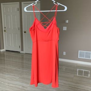 Express Dresses - Express red shift dress